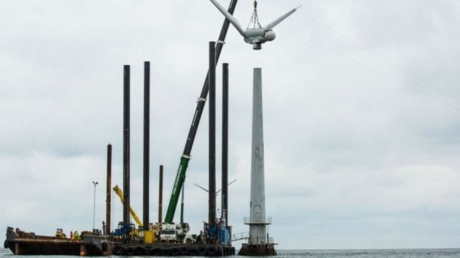 Experience of decommissioning offshore windfarms is limited, but modelling suggests it will not have