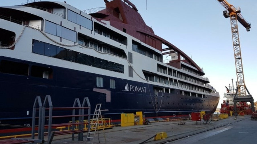 Ponant's newbuild brings green technology to cruise ships