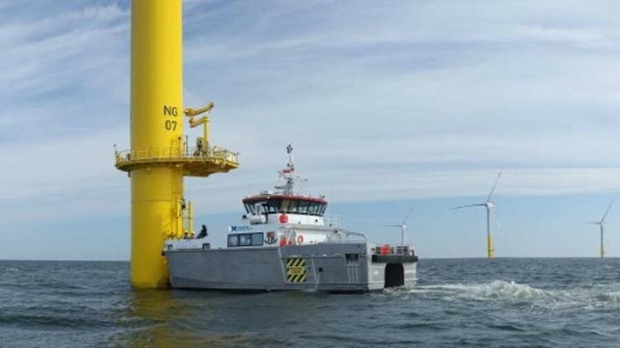Deutsche Windtechnik has modified two crew transfer vessels to act as survey units