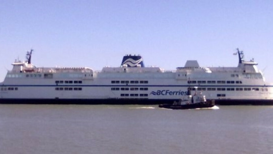 BC Ferries is aiming to replace its aging C-class fleet - including Queen of Surrey (pictured) – wit