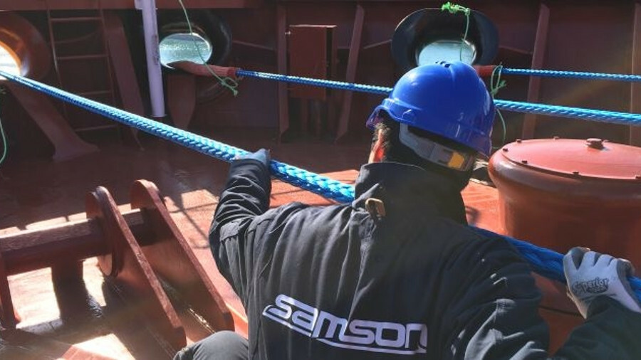 Samson synthetic ropes specified for BW newbuilds
