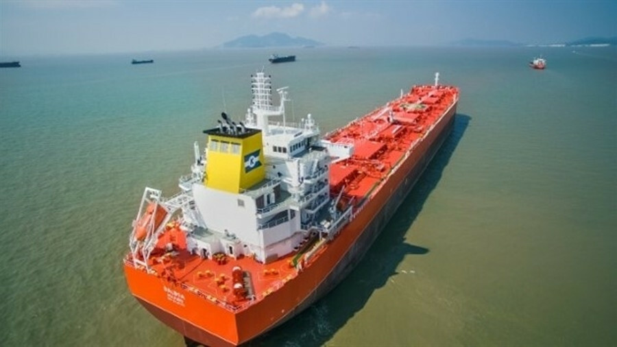 Klaveness's Balboa, pictured, Baffin and Ballard will all be fitted with high-frequency radios with