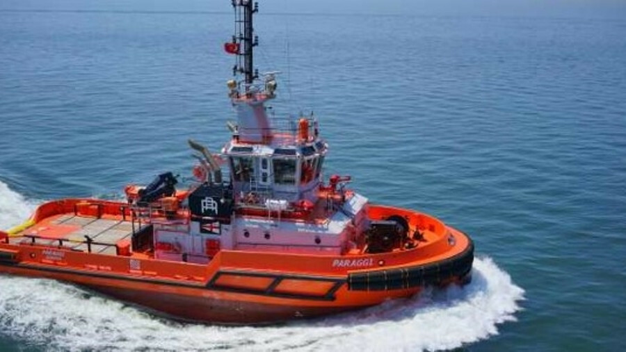 <i>Paraggi</i> has a top speed of 13 knots and 70 tonnes of bollard pull