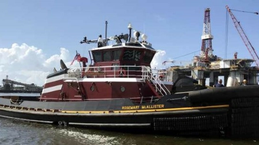 <i>Rosemary McAllister</i> achieved a bollard pull of 82.5 tonnes during sea trials