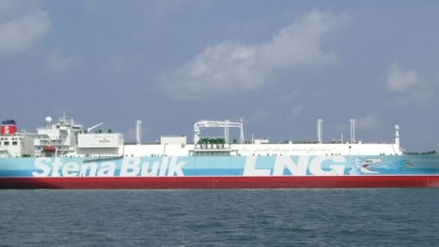 Stena Blue Sky has delivered the inaugural cargo to the ENN facility in Zhoushan, China's first priv