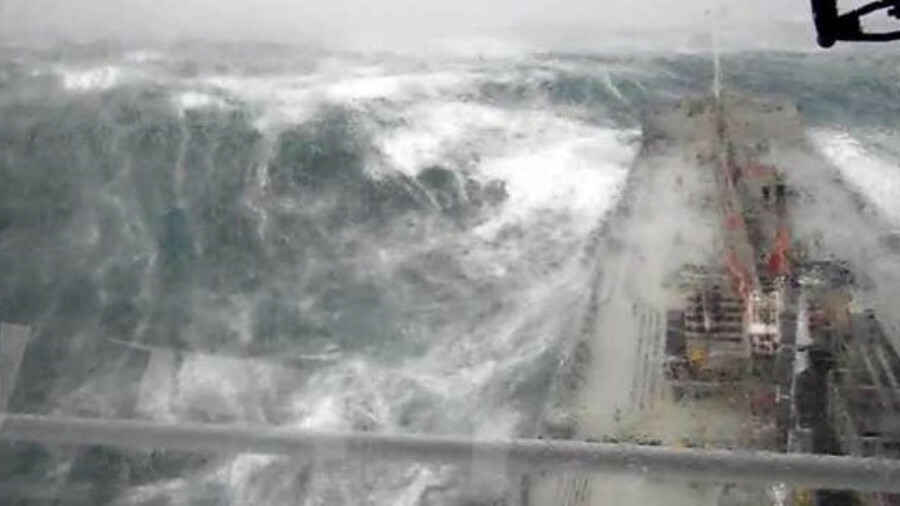 Weather and sea conditions have a major impact on ship efficiency