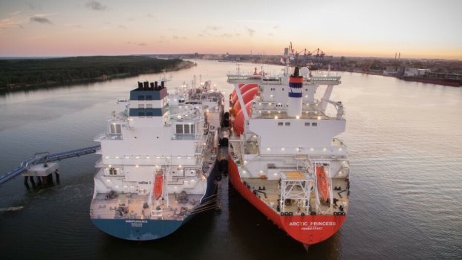 Höegh LNG's Independence brings regasification vessel operations to Lithuania, the Baltic Sea and No