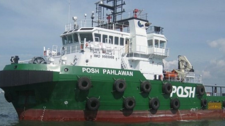 The first vessel assigned by the JV to the offshore wind market in Taiwan, POSH Pahlawan