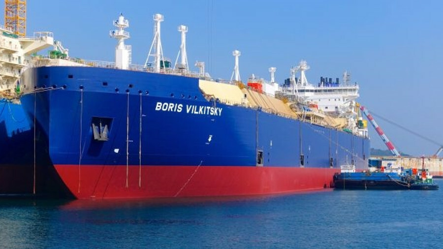 Boris Vilkitsky is the first of the five Arc7 icebreaking LNG carriers in which Dynagas Holdings has