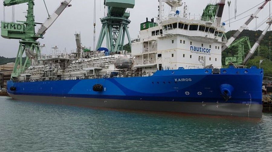 Kairos set to augment nascent LNG bunker vessel pool