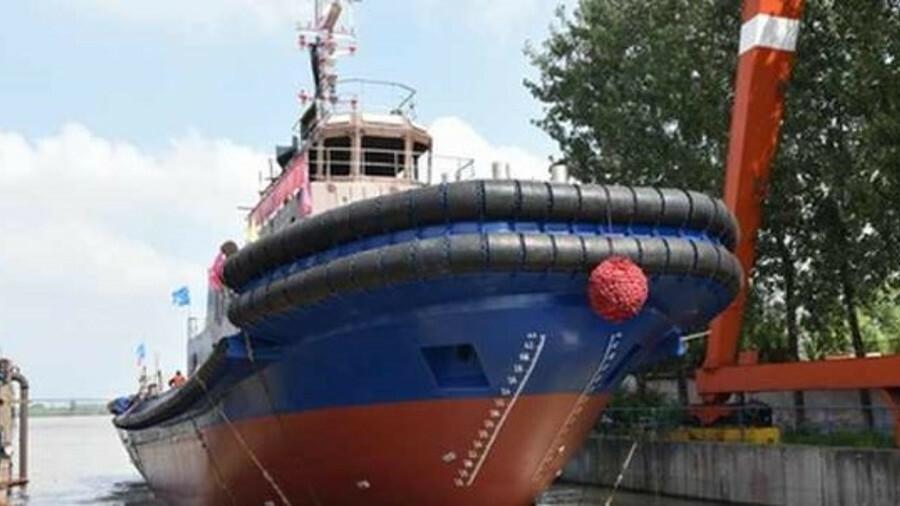 Jiangsu Zhenjiang launched a 3,824-kW tugboat at its shipyard in China on 18 August