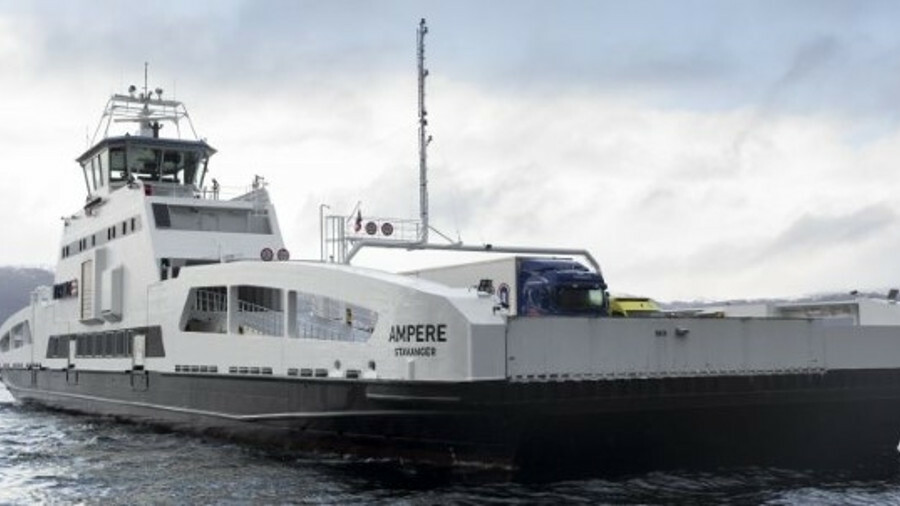 Norwegian legislation spearheads drive towards battery-powered ferries