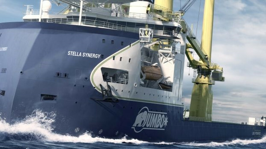 Stella Synergy is the largest vessel in the world to incorporate the Ulstein X-BOW hull design