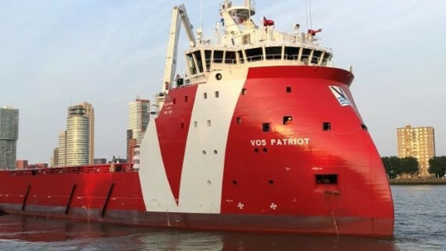 Vos Patriot is the last of six PX-121 vessels ordered by Vroon