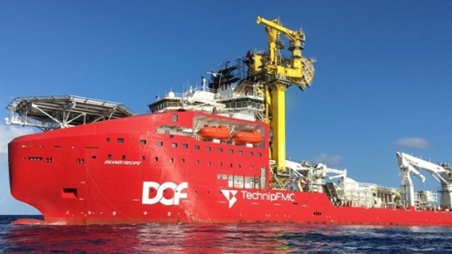 DOF Subsea handles marine operations and TechnipFMC handles flexible pipelay for Skandi Recife