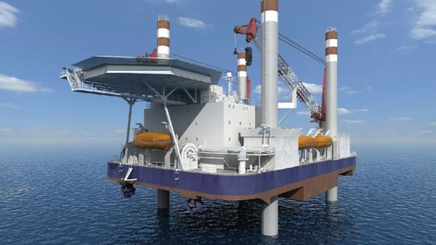Fit-for-purpose design ethos for accommodation and support vessel