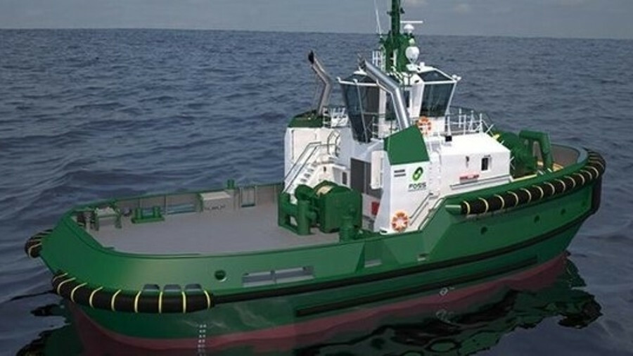Foss would have built 10 escort tugs to Damen's ASD 2813 design