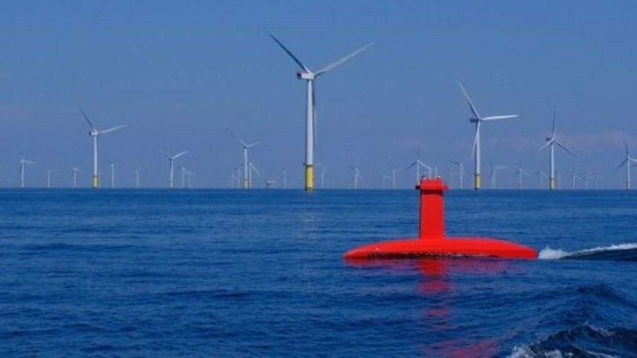 DriX was extensively tested on the Gwynt Y Môr offshore windfarm operated by Innogy Renewables UK Lt