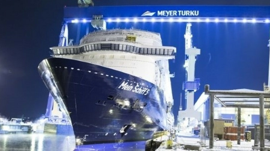 Meyer Turku shipyard in Finland is building cruise ships with ITC Global VSAT on board for TUI Cruis