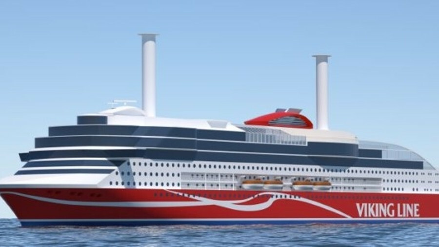 Chinese shipyard Xiamen Shipbuilding Industry has started building Viking Line's new ropax