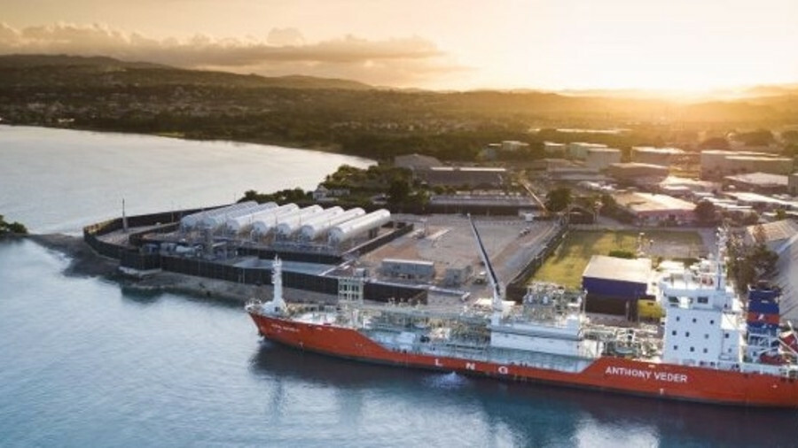 NFE introduced LNG to Jamaica, using a coastal gas carrier to shuttle cargoes from a floating storag