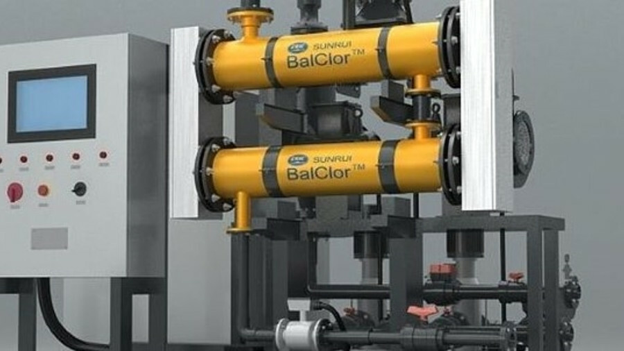 SunRui's BalClor system will be retrofitted to 22 Singapore-managed vessels (credit: SunRui)