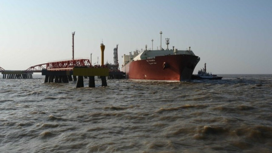 Bu Samra discharges a cargo at PetroChina's Rudong terminal; Qatar already has one long-term SPA in