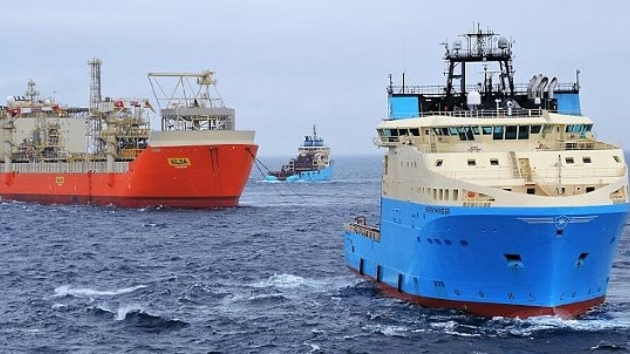 Maersk Minder installed 12 140-mm mooring chains and sheathed wires in two mobilisations