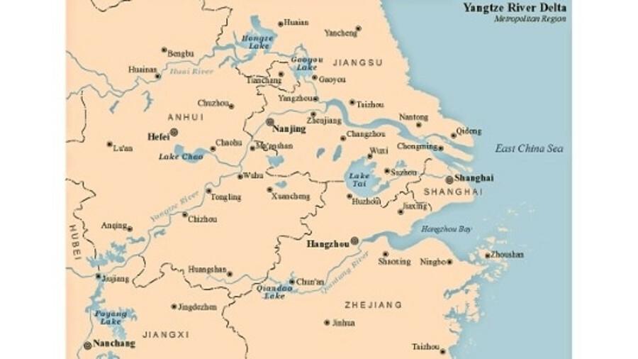 China's Yangtze River Delta ECA