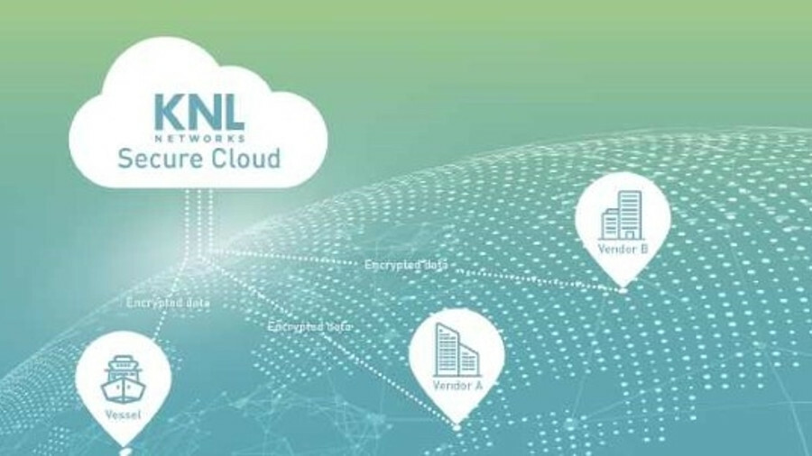 KNL has set up a secure cloud for data transmissions from ships to vendors