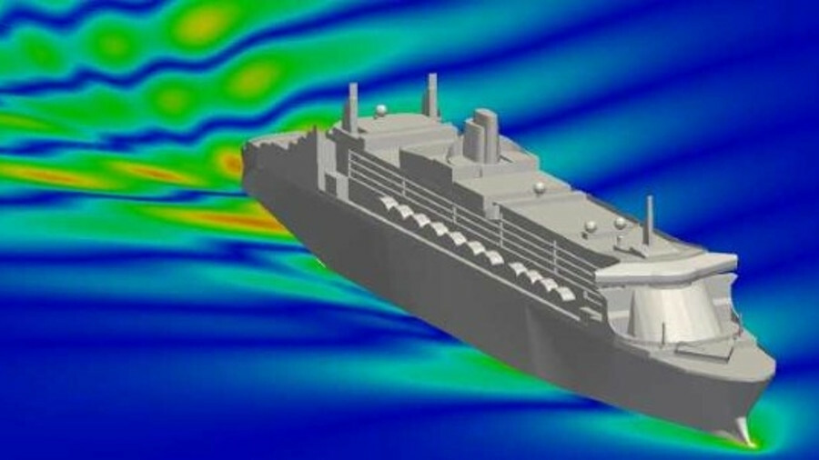 Siemens Star-CCM+ program offers these types of analysis for marine applications