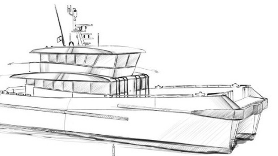 The design of the Chartwell 24 is based on many years of experience with vessels for the crew transf