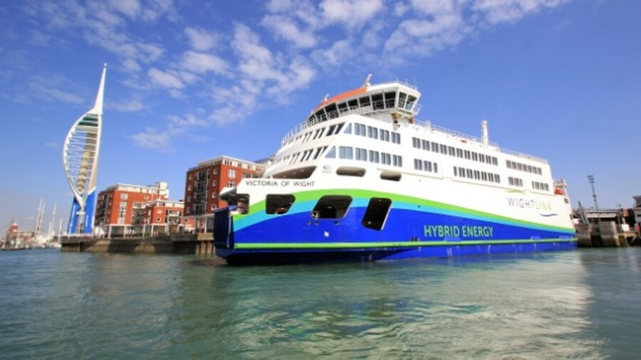 Victoria of Wight has been built to match the conditions of the ports in which it operates
