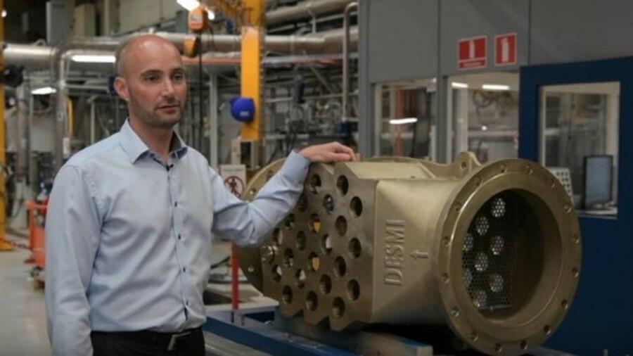 "Rasmus Folsø (Desmi Ocean Guard): ""We are very happy to achieve this major milestone in the CompactC"