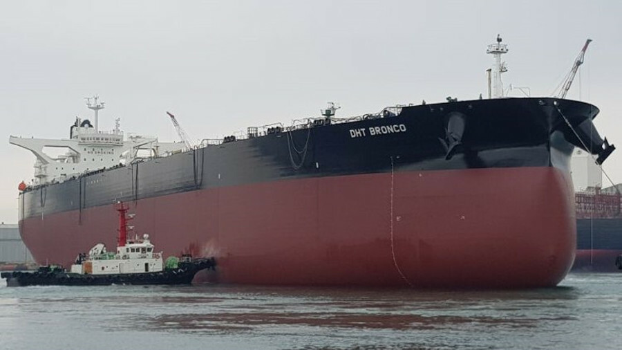 DHT Bronco is the latest addition to the tanker herd