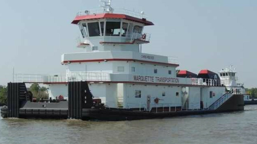 CT Marine designed ATB tugs for Marquette Transportation that are being built by C&C Marine this yea