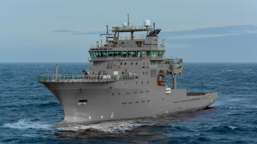 The military soaks up excess OSV supply: HMNZS Manawanui (pictured) was formerly known as Edda Fonn