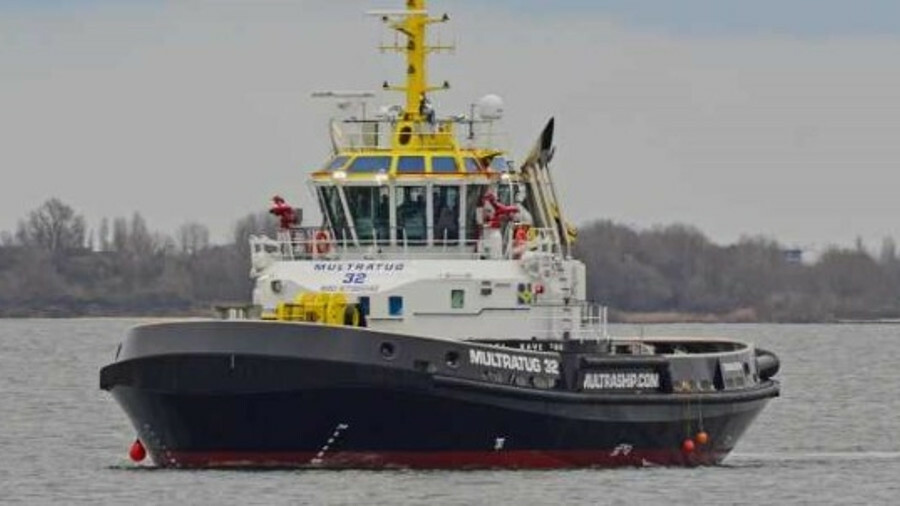 Multratug 32 has a rotating winch and two Voith in-line propellers for dynamic towage