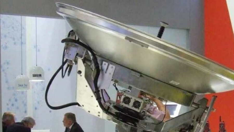 Cobham Satcom unveiled a high power version of its Sailor 100 GX antenna at SMM