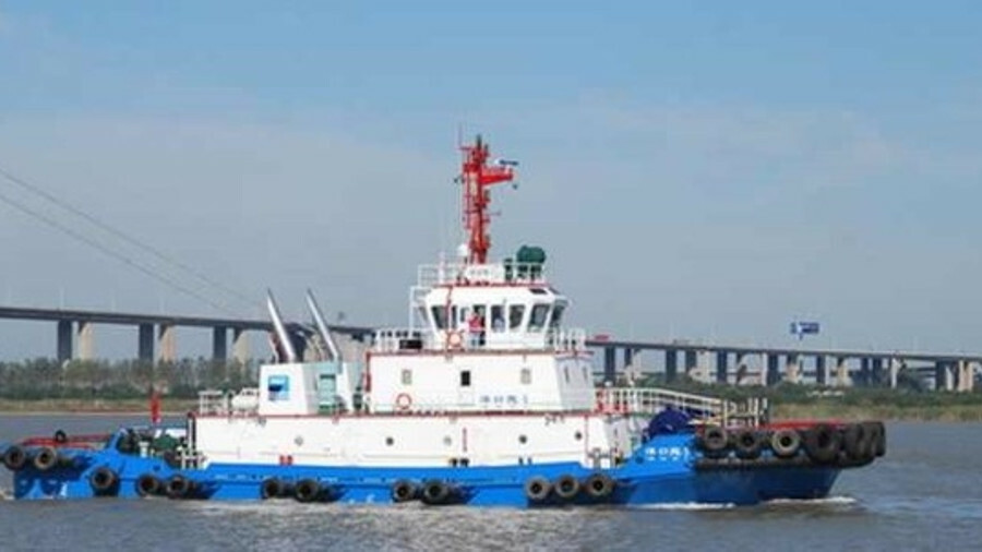 Yangkoutuo 5 is an ASD tug with total power of 3,240 kW