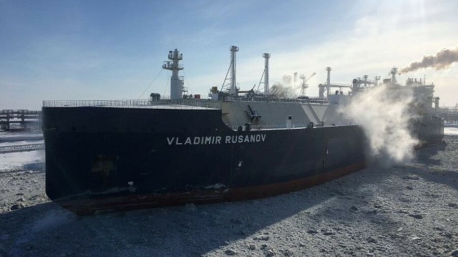 The icebreaking LNGC Eduard Toll was delivered in December 2017, in alignment with the start of Yama