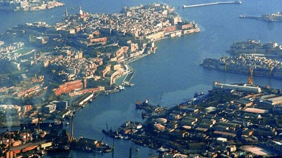 Valletta Harbour: illegal Libyan fuel oil cargoes were transferred in full view of officials