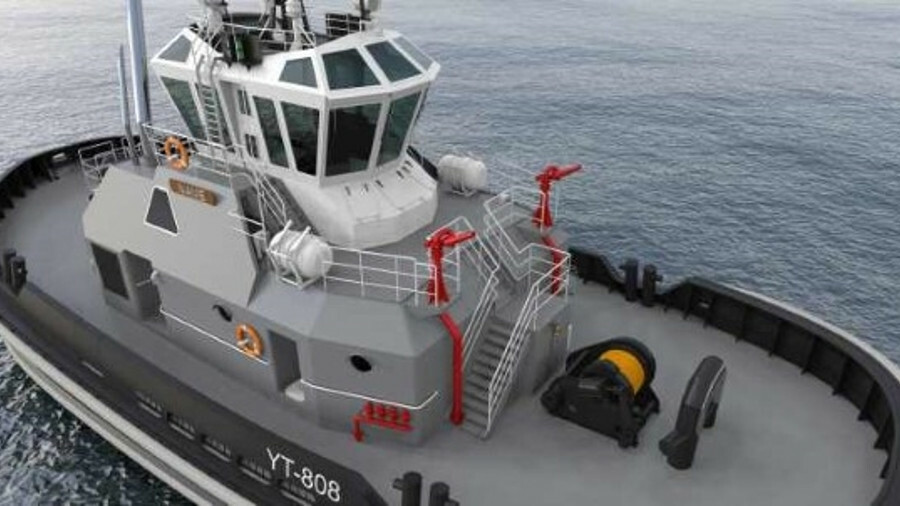Dakota Creek Industries is building four tugs to Robert Allan Z-Tech 4500 design