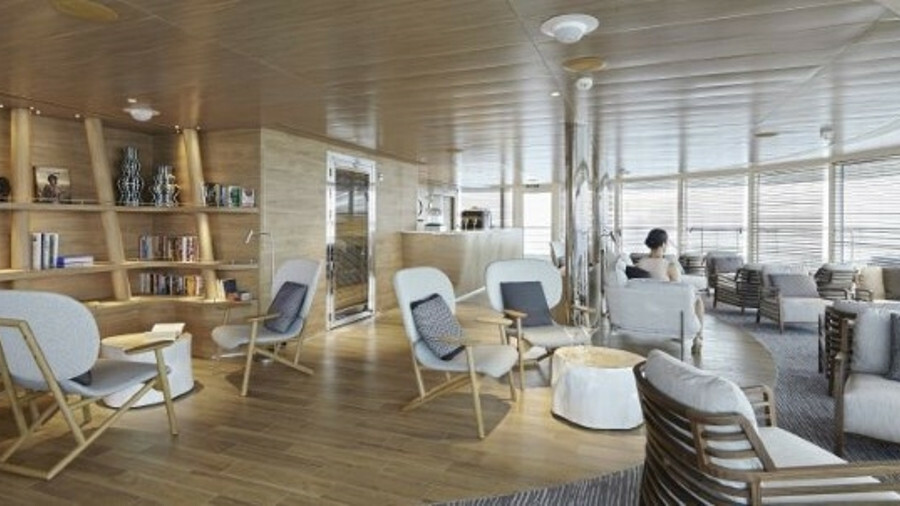 For the first time, Marine Interiors carried out the complete accommodation package on Ponant's Le L