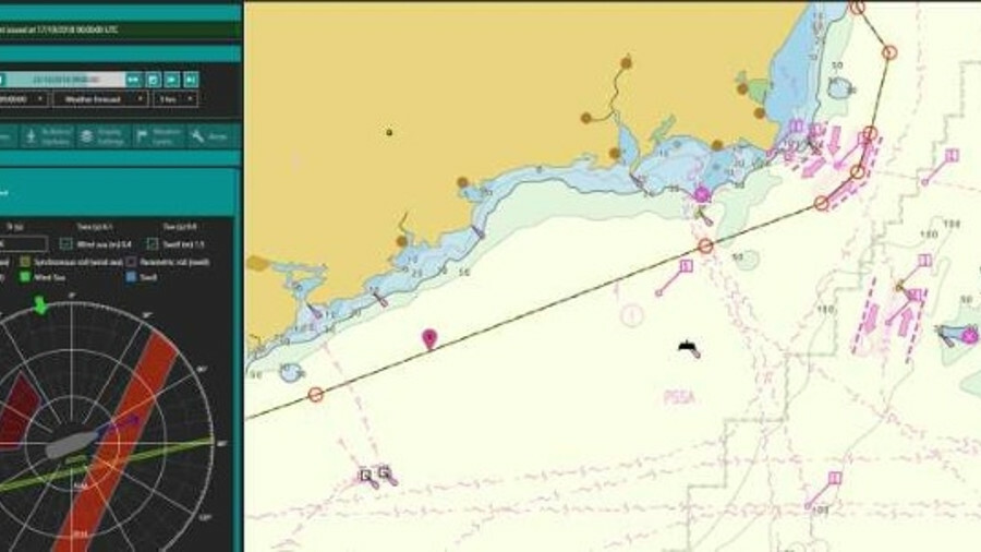 OneOcean is a platform for passage planning and weather routeing