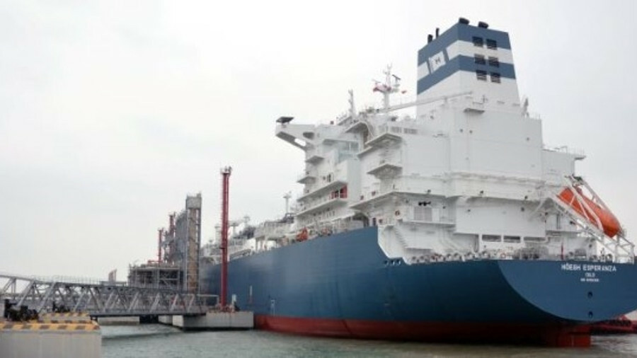 Höegh Esperanza has berthed at CNOOC's Tianjin terminal, ready to regasify LNG under the terms of a