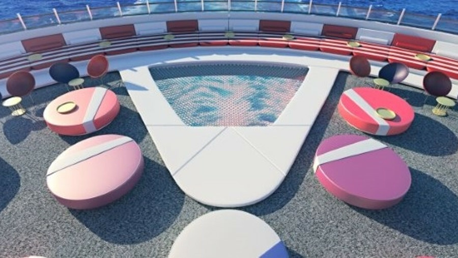 Virgin Voyages: a multiple-designers approach