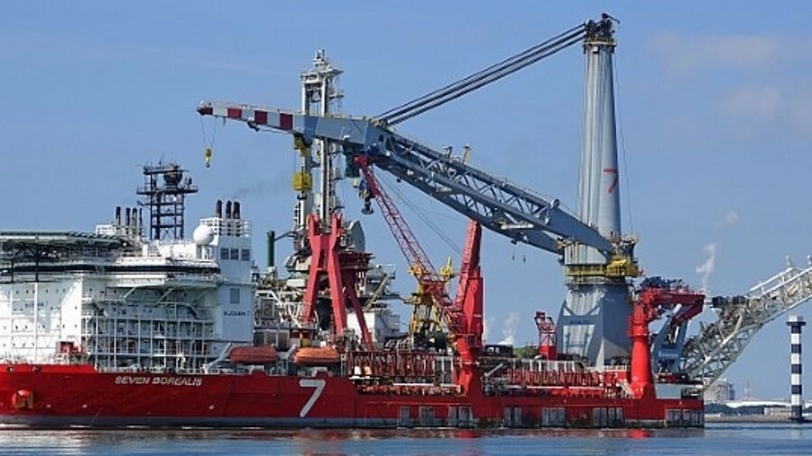 Seven Borealis was mobilised in October to assist with the Borkum II project (credit: Kees Torn/flic