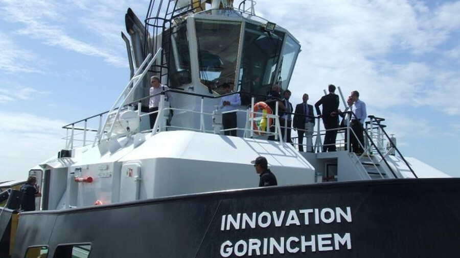 Damen unveiled its first RSD design tug Innovation in Southampton in June 2018