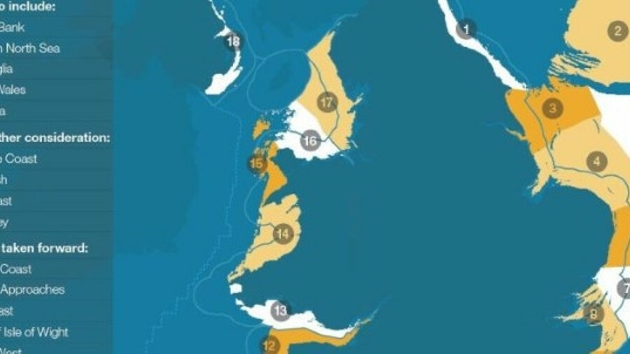 The Dogger Bank, southern North Sea, East Anglia, North Wales and Irish Sea have all been proposed f